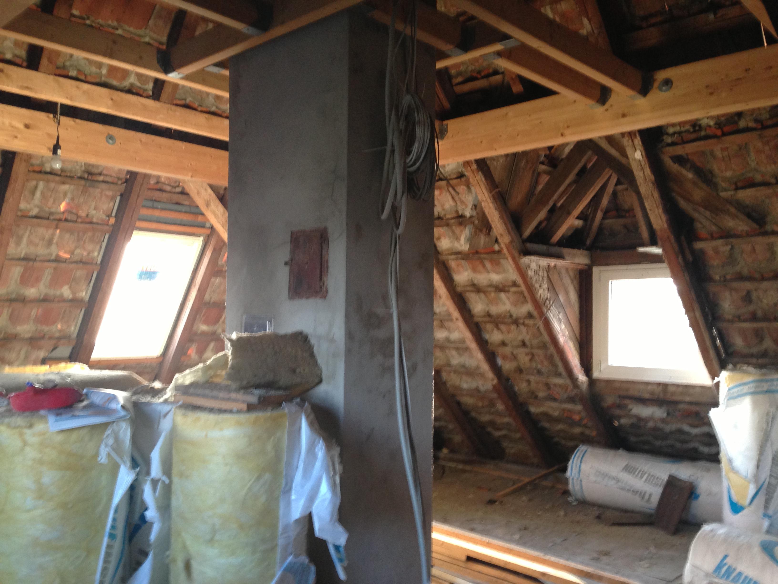 projekt dachbodenausbau nachtr gliche unterpannbahn dann wollen wir mal. Black Bedroom Furniture Sets. Home Design Ideas