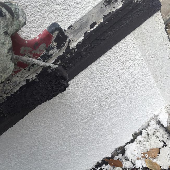 sockel streichen rasenkanten betonieren und sockel verputzen streichen balance100weber andr und. Black Bedroom Furniture Sets. Home Design Ideas